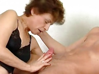 Older German lady gets pulverized - Inferno Productions