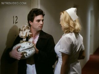 Hot Krystina Carson Wearing a Hot Nurse Uniform - 'Apartment' Scene