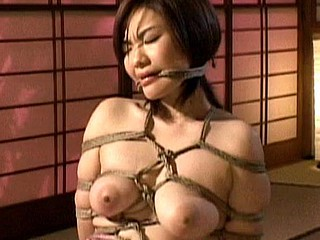Here is a pang and humiliation movie  complete Japanes servitude experience. This angel is absolutely wrapped with a rope and taken advantage of during the time that that babe is immobilized. Watch her go through some raunchy humiliate and rough sex.