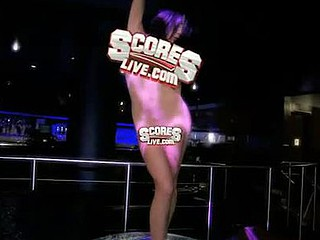 `Danielle Staub, formerly be useful to `The Real Housewives be useful to Recent Jersey,` goes shunned on high a stripper pole at ScoresLive.com.`