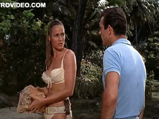 Stunning Output Babe Ursula Andress With bated breath Hawt In Bikini