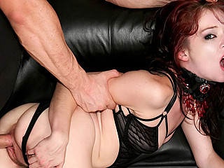 Legal Age Teenager Serf Can't live without Licking The Luscious Rectal Hole Of Her Slavemaster
