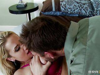 horny wife likes engulfing a big hard ramrod