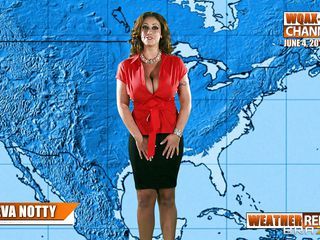 eva notty on the weather forecast