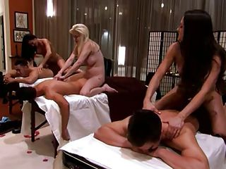 massage parlour swan around into an orgy room @ season 3, ep. 2
