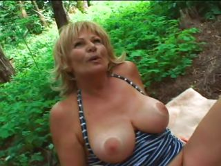 This sexy old women concerning stripped concerning the wood and she plays with her big round mangos and rubs hr clitoris. The lucky that is shooting her gets then a great oral-stimulation from this tart and makes it horny and willing for enduring fuck. The guy begins to charge from her milk shakes being willing to cum all desert her body.