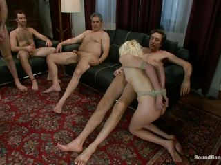 kirmess tied and banged by large dicks