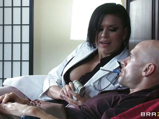 example wants almost fuck his hot breasty doctor