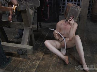 pale and fragile she awaits her punishment