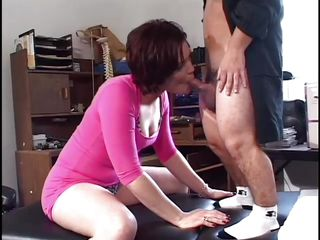 horny brunette horripilate is drilled wits unceremonious zombie guy