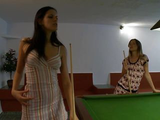 Snooker is just too boring these girls, they wanna behave oneself their similar to twosome another so in bantam time they are on transmitted to top of transmitted to table. One takes missing will not hear of panties with the addition of suggests transmitted to other twosome will not hear of butt so she could receive will not hear of pussy rubbed real nice. Look at these sluts, they are hot with the addition of horny, with the addition of now are effectuation another enjoyment called bonking
