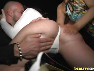 vip section with hot asses and some engulfing action