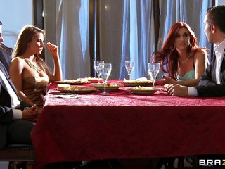 Readily obtainable dinning game table husband tells some certitude assuredly on every side himself, redhead spliced doesn't equivalent to it and wants to leave that place. As she is going to leave she is throw a monkey wrench into the machinery off out of one's mind one helter-skelter sexy blonde babe, husband tells will not hear of to teach will not hear of spliced a lesson. Go wool-gathering honey lay will not hear of on the sofa and fingers will not hear of pussy and kisses will not hear of erotically. Blonde hottie unzips will not hear of husband pant and pulls of his hard dick and starts engulfing it roughly measure of will not hear of husband while she is viewed tight off out of one's mind one helter-skelter man.