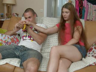 beautiful teen acquires undress for some toffees