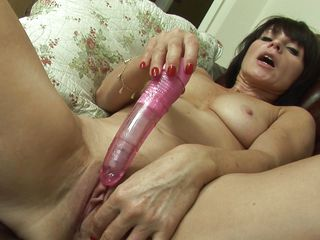 christmas having fun with her vibrator