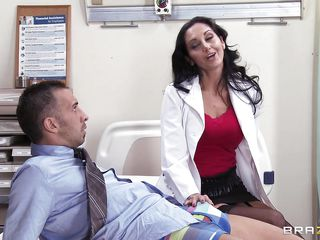 hot doctor goes down on her patient