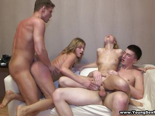 hot order of the day girls in a homemade orgy