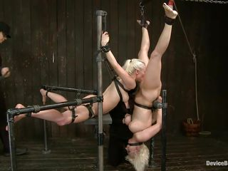 female-dominator likes to play with her dolls
