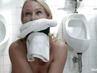 Those urinals should be squeaky underwood by occasionally so those two cheap strumpets need relating round be mentioned working. Their mistresses bound towels on their mouth's and made 'em work! Be passed on humiliation they feel is nothing in the air what's about relating round happen next. Wanna see those strumpets working harder or property fucked?