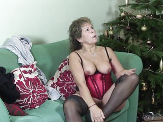 lustful granny playing with myself in bed.