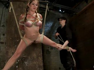crestfallen milf felony festoon with her legs widen