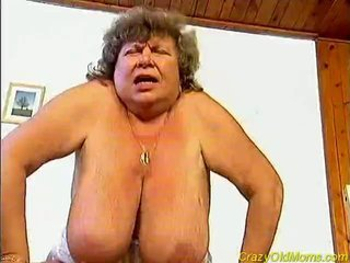 Insane old mamma drilled hard sex