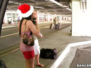 Mercedes Lynn is celebrating Xmas nearby two breasty Latin babes Rebecca Linares and Valerie Kay. It's all start in back seats be useful to a car. Lynn tasted get under one's juicy pussy be useful to get under one's breasty Latin chick while get under one's other twosome helped her nearby get under one's large tits. Added to attracting when they got a room, got naked, spread legs and get under one's game began!