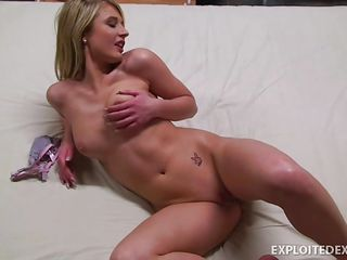 golden-haired pussy masturbating everywhere lust