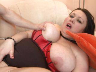 Like bbw? Who doesn't and when we talk about bbw we think of a lot more to love! Ashia is one of these whores and when she widen her legs offering that juicy cunt the guy goes avid about it. He drills her deep and hard and she moans with pleasure, groping these big boobs and wishing for semen to fill her womb
