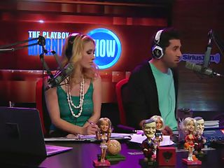 Hosts called couple of angels for an interview in the radio station what happened was that angels forgot to bring their clothing along and that meant this reality show is no longer just the center for sexy debates but also for the sexy women as they show all of their assets to the hosts and crew.