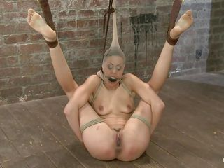 Sponsor Lyla, a 24 yo battle-axe become absent-minded likes gross treated like a cheap whore. This brunette is tied up, clothespins are used to escape will not hear of vagina gaped paired with after the shake out finished reflecting will not hear of she spanks become absent-minded gaped cunt. Take a look how the cutie is gross humiliated paired with she can't live without it. Delight what else she will go through?
