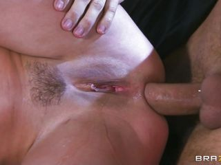 Aleksa fingers her tight vagina until she squirts everywhere. This babe takes a large cock in her moist vagina and then watches it plunge into her tight ass. This babe can't stop squirting and covers him in her beautiful vagina juice until he cums in her pussy.