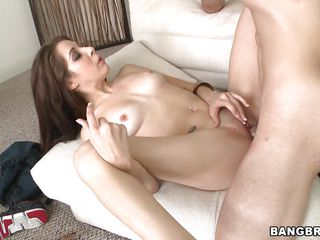 sexy ass latina chick enjoys a hard dick in her pussy