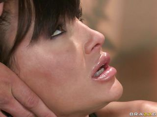 horny milf lisa ann got neglected in a line