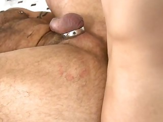 Have a look at this gay with pierced dick having his asshole fucked