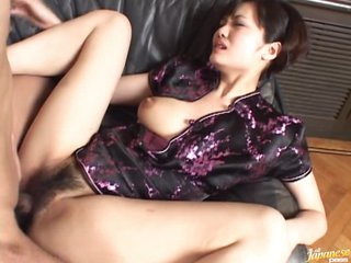 Wild Asian MILF Mako Takeda Gets Fucked Unconnected with her Young Boyfriend