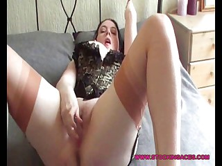 Huge Breasty Babe In Nylons - xHamster.com