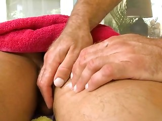 Sexy massage prizefight for attractive gay scantling