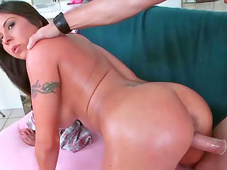 Mature Latina with big gut and her fresh lover