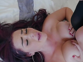 New stepdaughter is so hot that stepdad can't resist and fucks her