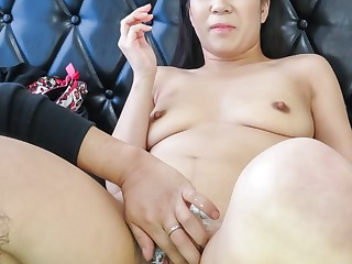 Fabulous Japanese chick Saya Fujimoto in Incredible JAV well-built Hairy video