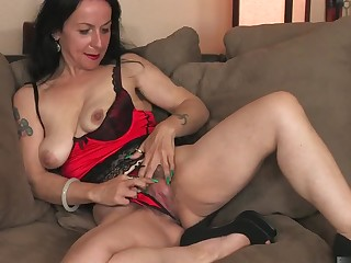 Nina Swiss has been enquire into a younger dick be advisable for quite some time, exclude