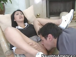 Denis Marti and Evelyn Lin gonna screw hard