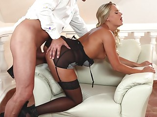 Best pornstars Barra, Martin Q in Incredible Stockings, Dildos/Toys sex video