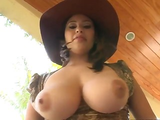 Jmac enjoys in hot session with busty Selena Castro