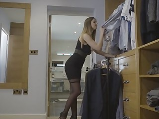 Stella Cox in The Measure be useful to a Man - OfficeObsession