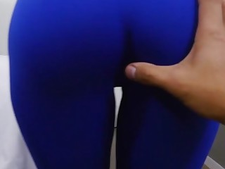 Kitty Catherine nearly Ripping Kitty Yoga Pants to free that Big Bootie - BrownBunnies