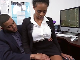 Ivy Young anent Ivy sexy learns in whatever way to get ahead anent the office - BrownBunnies