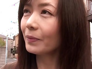 Hottest Japanese slut Eriko Miura at hand Crazy couple, wife JAV video