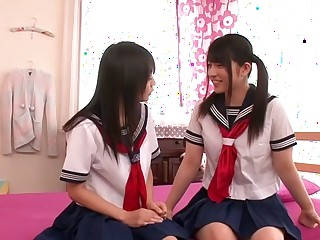Amazing Japanese chicks Ai Uehara, Konoha in Crazy JAV censored Fetish, College clip